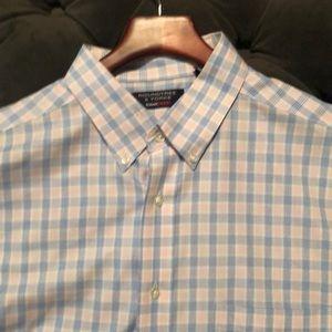 Plaid Roundtree & Yorke Shirt